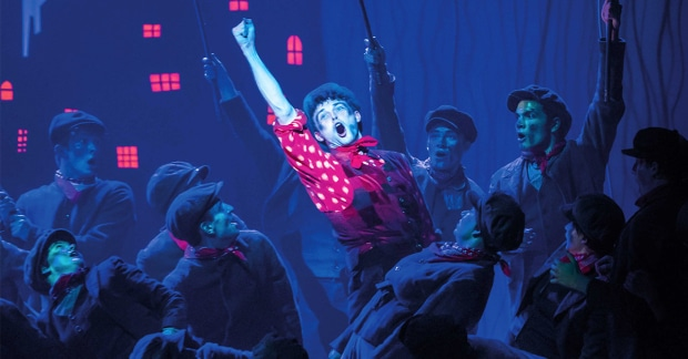 Charlie Stemp as Bert in Mary Poppins